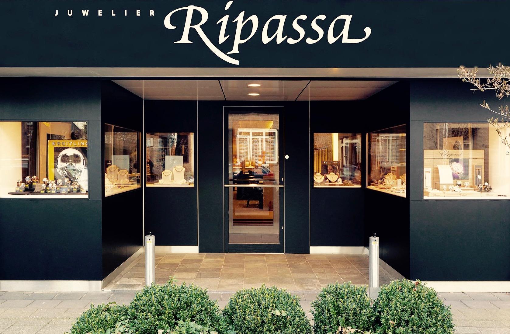 Front store Juwelier Ripassa