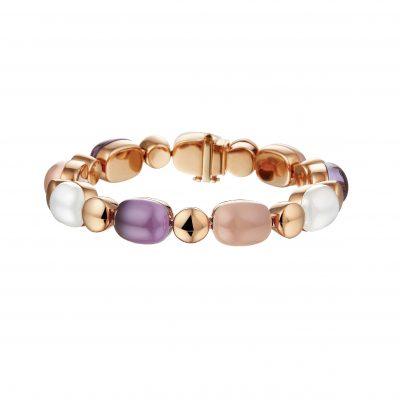 Armband gekleurde stenen