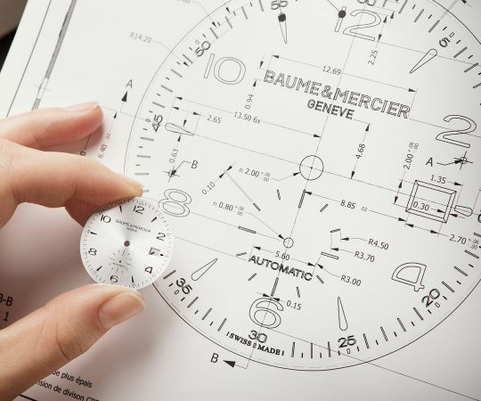 Baume et Mercier drawing