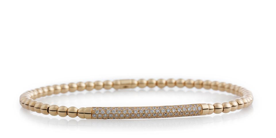 Reflex armband met witte diamant - 7AR3937BR