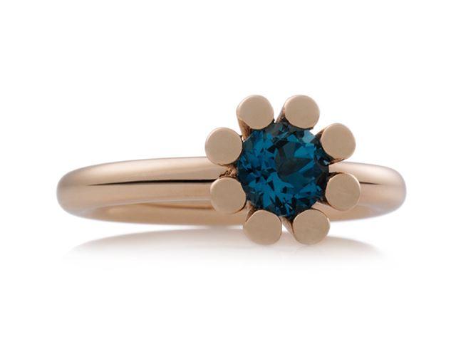 Sprite ring met London blue topaas - 8RR4590TL