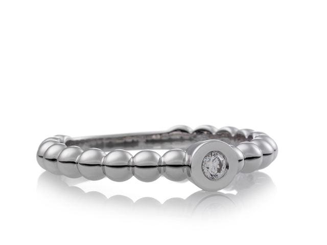 Joy ring met witte diamant - 8RW4745BR