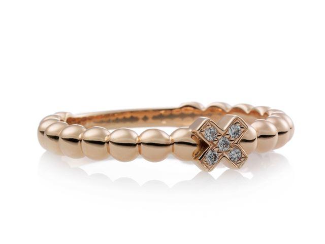 Joy ring met witte diamantjes - 8RR4746BR