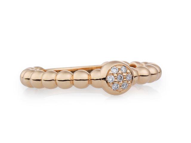 Joy ring met witte diamant - 8RR4792BR