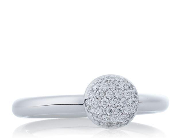 Stardust ring met witte diamant - 8RW4717BR