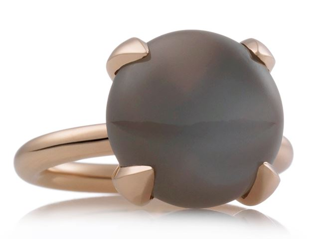 Catch ring met ronde cabochon maansteen - 8RR4780MGC