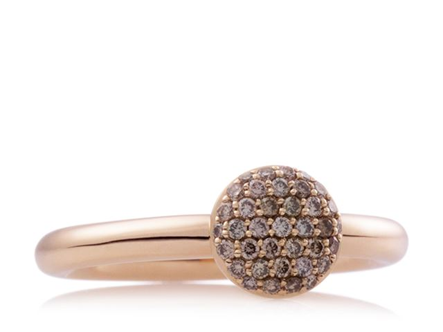 Stardust ring met Champagne diamant - 8RR4717CBR