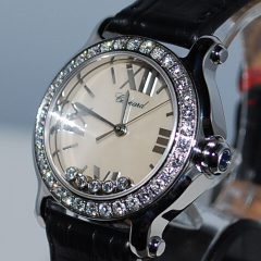 CHOPARD HAPPY SPORT MINI 30 MM/DIAMANT, €4.850,-